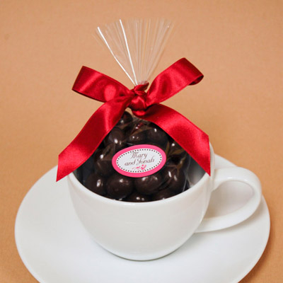 DIY Espresso Cup Baby Shower Favor