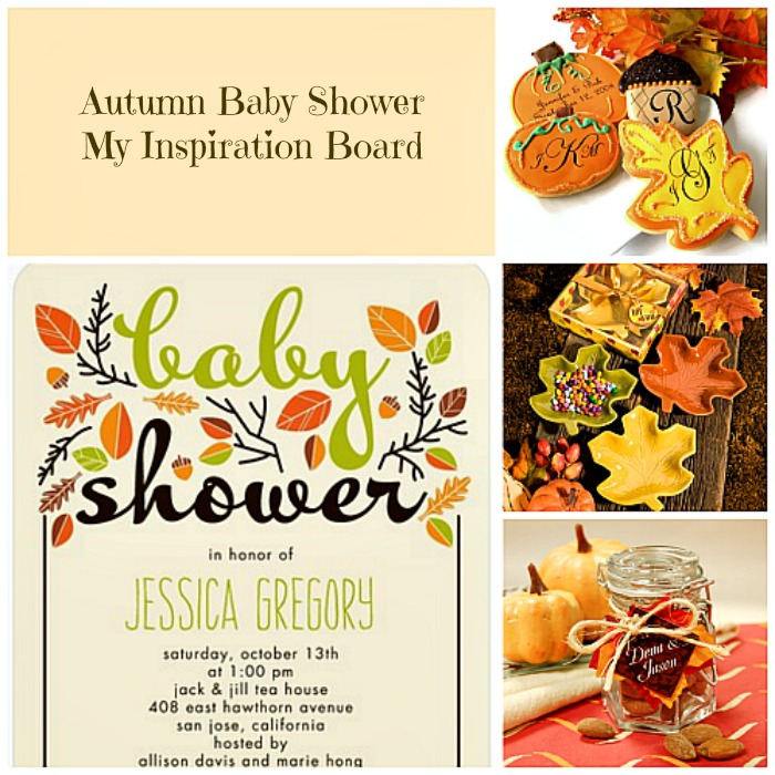 My Inspiration Board Autumn Baby Shower
