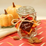 Fall Baby Shower Favor Jar