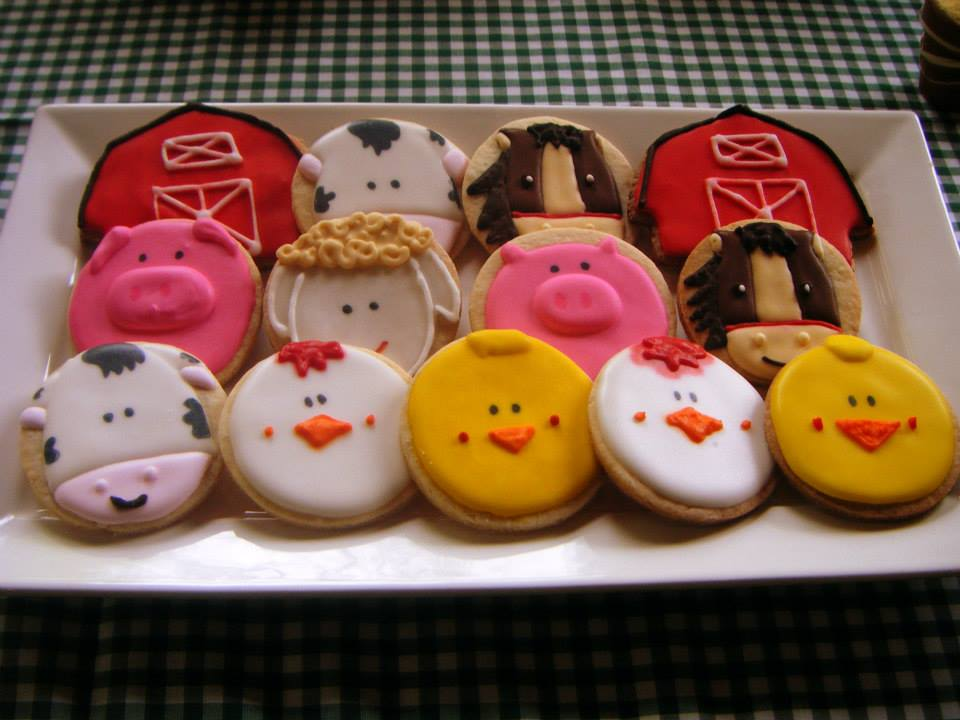 Lovely Farm Themed Cookies