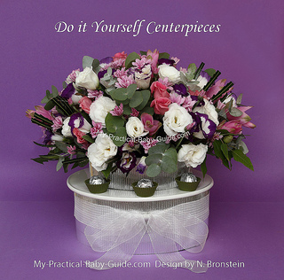 DIY Flower Centerpiece