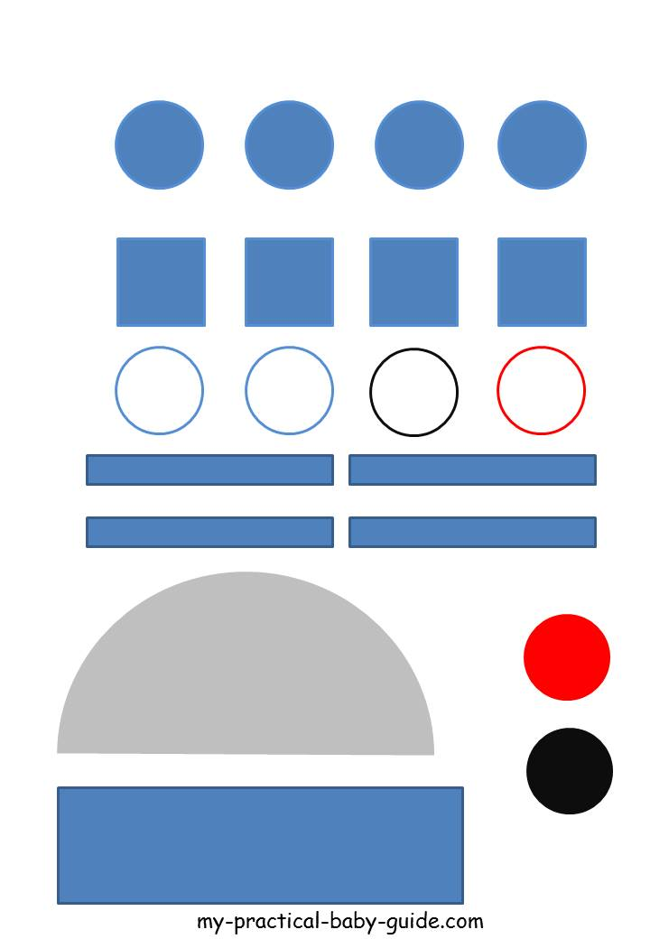 photograph about Star Wars Printable Crafts called Star Wars Birthday Social gathering Plans - My Effortless BIrthday Direct