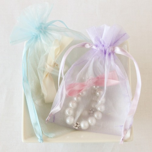 Frozen Sheer Organza Favor Bags