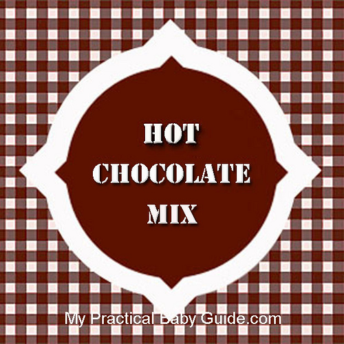 Free Printable Hot Chocoltae Mix Label