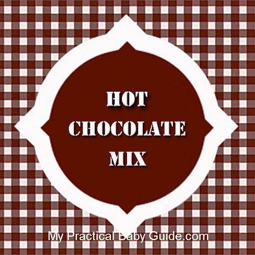 Free Printable Hot Chocoltae Mix Label