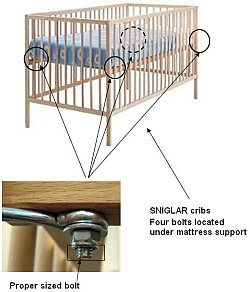 Angel Line Longwood Forest Drop-Side Cribs