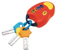 Toy Keys with Remote recall