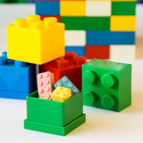 Lego Blocks Favor Boxes