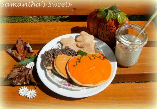 Pumpkin Baby Shower Cookies
