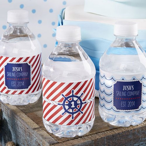 Nautical Mini Water Bottle