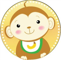Monkey Baby Shower Printables