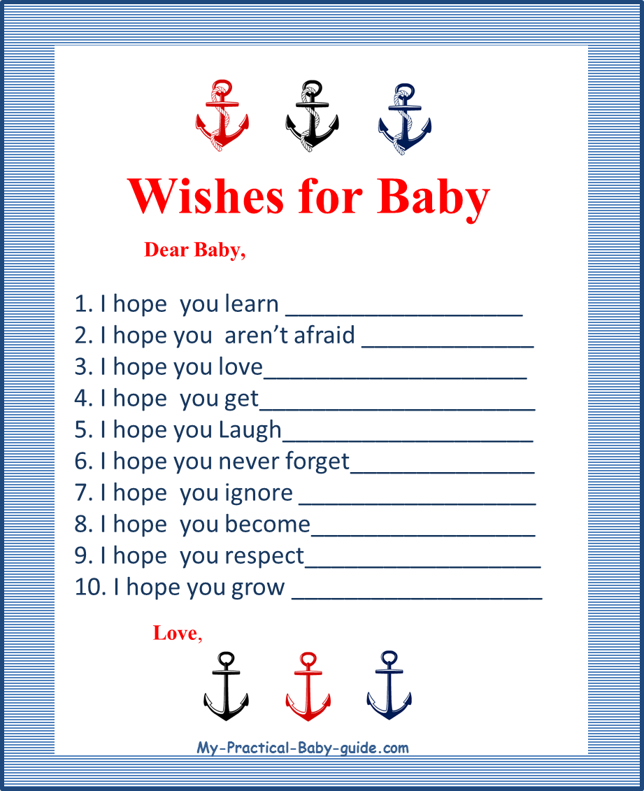 Nautical Baby Shower Theme Ideas - My Practical Baby Shower Guide