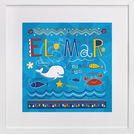 EL Mar Nursery Art Prints