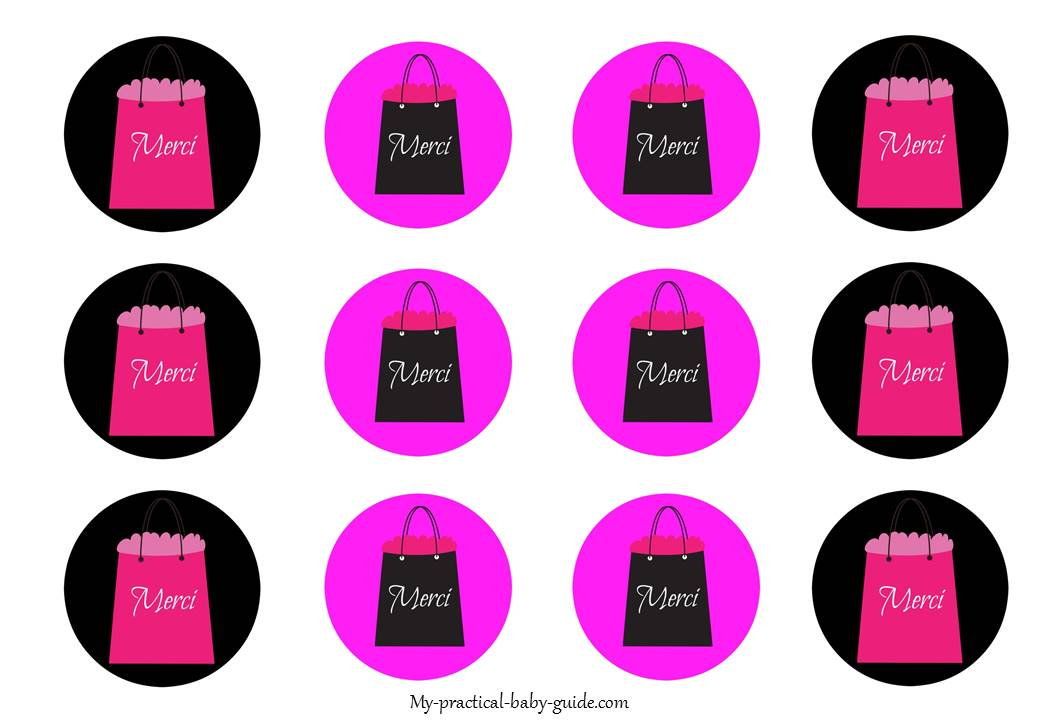 Free Printable Paris Gift Tags