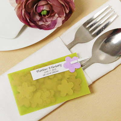 DIY Plantable Seed Baby Shower Favor