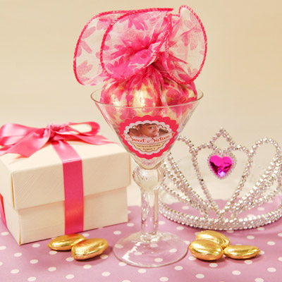 DIY Princess Baby Shower Favors