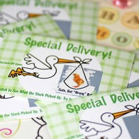 Printable Baby Shower Game Stork Delivery