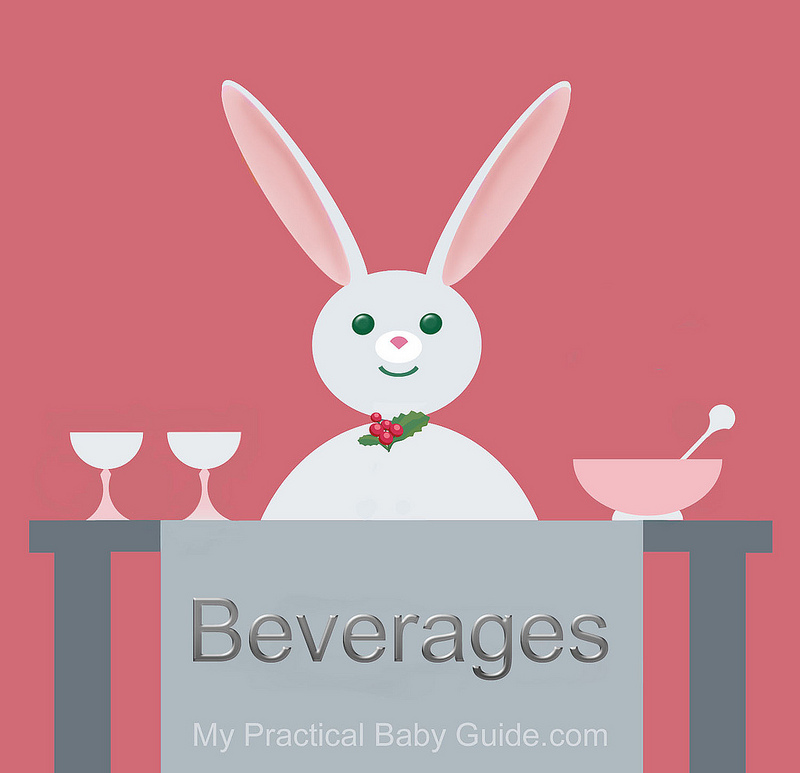 Free Printable Rabbit Baby Shower Food Labels Beverages