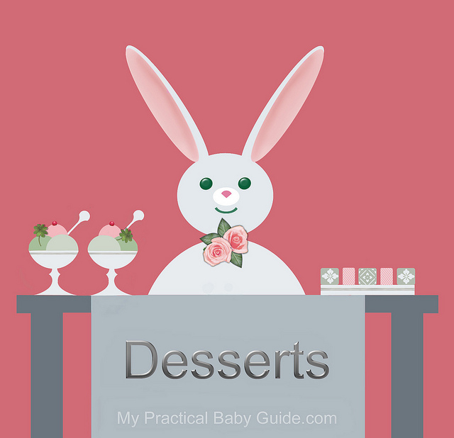 Free Printable Rabbit Baby Shower Food Labels Desserts