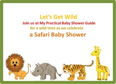 Safari amp jungle baby shower my practical baby shower guide