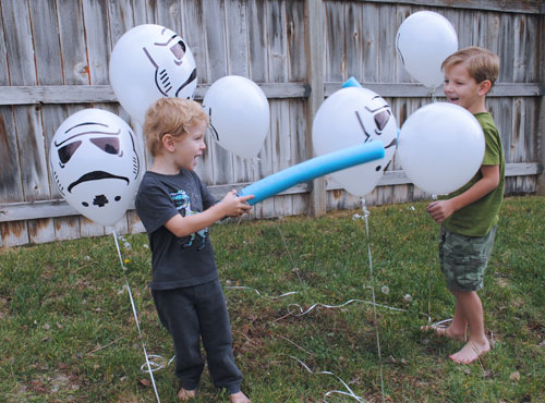 Storm Troopers Balloons