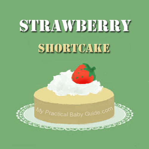 Free Printable Strawberry Shortcake Label