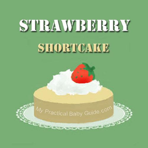 Free Printable Strawberry Shortcake Label
