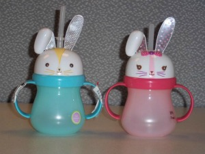 Bunny Sippy Cups by Target