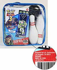 Toy Story 3 Bowling Game recall