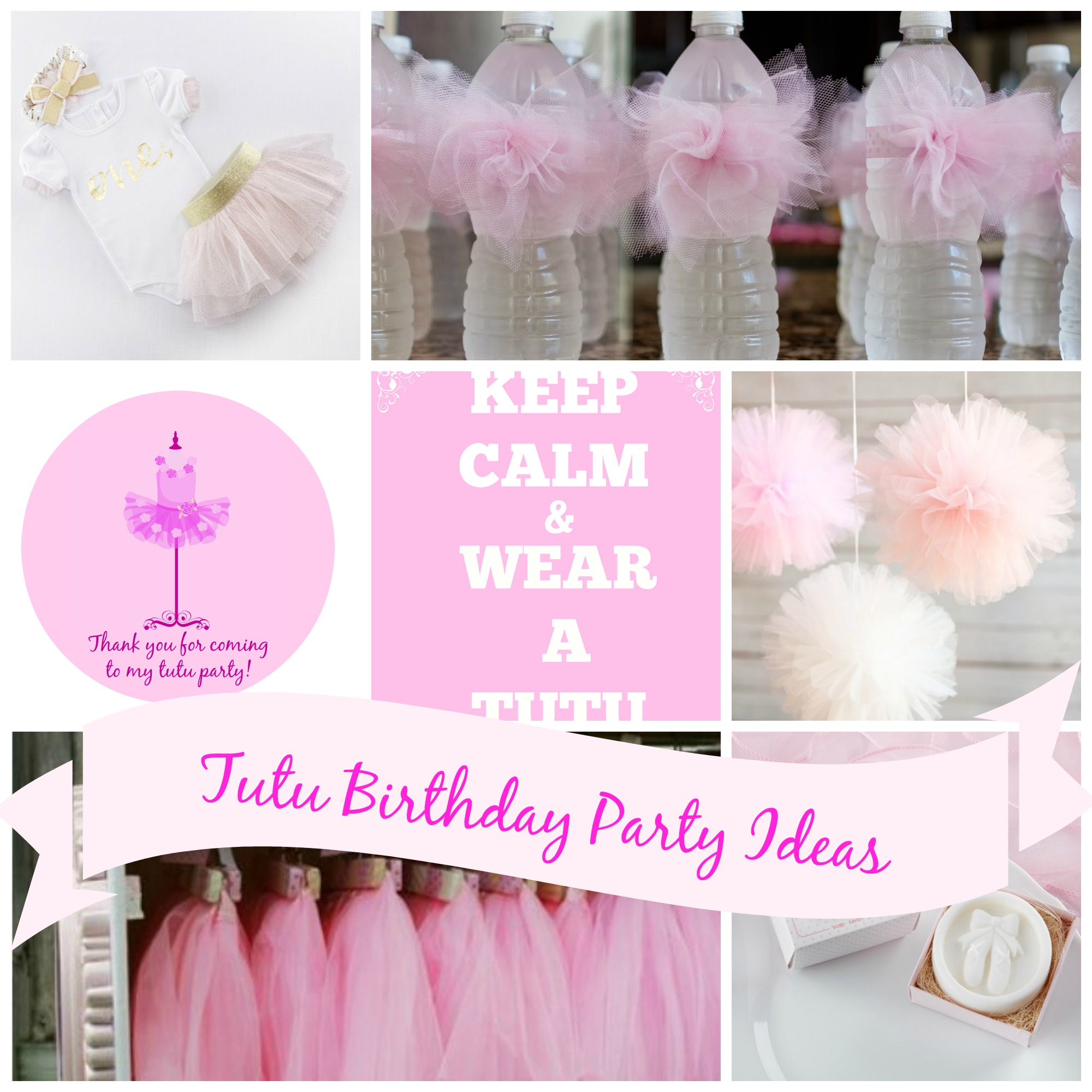 Tutu Birthday Party Ideas