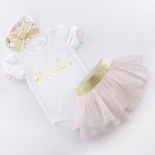 My 1st Birthday 3-Piece Tutu Outfit