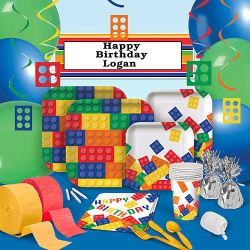 Lego Birthday Block Party Deluxe Party Pack