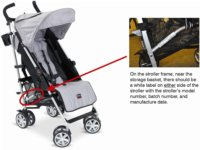 B-Nimble Strollers Recalls