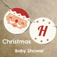 Christmas Themed Baby Shower Ideas