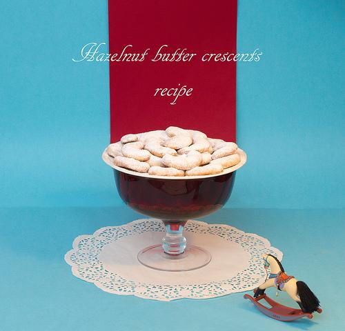 Christmas Cookies Hazelnut Butter Crescents