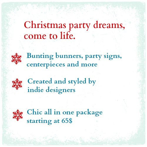 Christmas Party Decoration Supplies