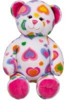 Colorful Hearts Teddy Bears