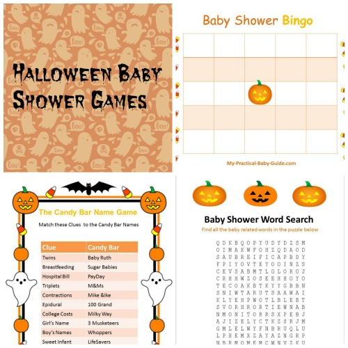 Free Printable Halloween Baby Shower Games
