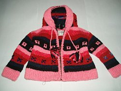 Girl's Hooded Sweater Recalled by El Gringo