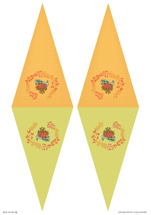 Free Printable Thanksgiving Bunting Flags