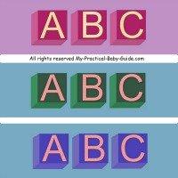 Alphabet Baby Shower Theme