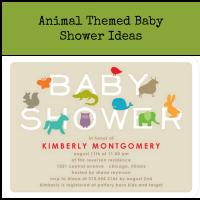 Animal Baby Shower Ideas