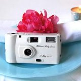 baby shower personalized baby camera favor