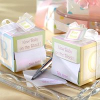 Sticky Notes Baby Shower Favors