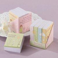 Notepaper Baby Shower Favors