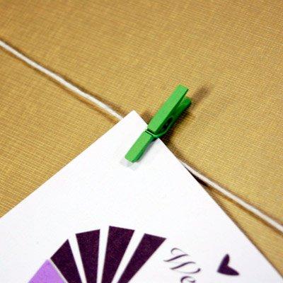 DIY Plantable Seed Card Clothesline