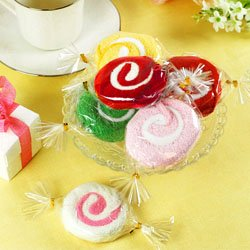Candy Towel Centerpiece