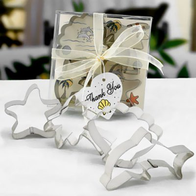Beach Cookie Cutters Baby Shower Favors