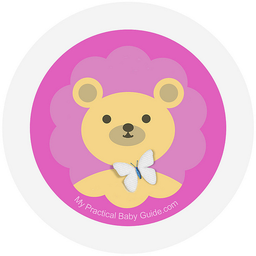 Free Printable Girl Bear Baby Shower Cupcake Toppers