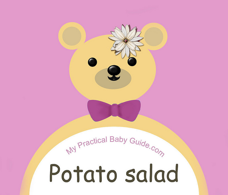 Free Printable Bear Girl Baby Shower Food Label